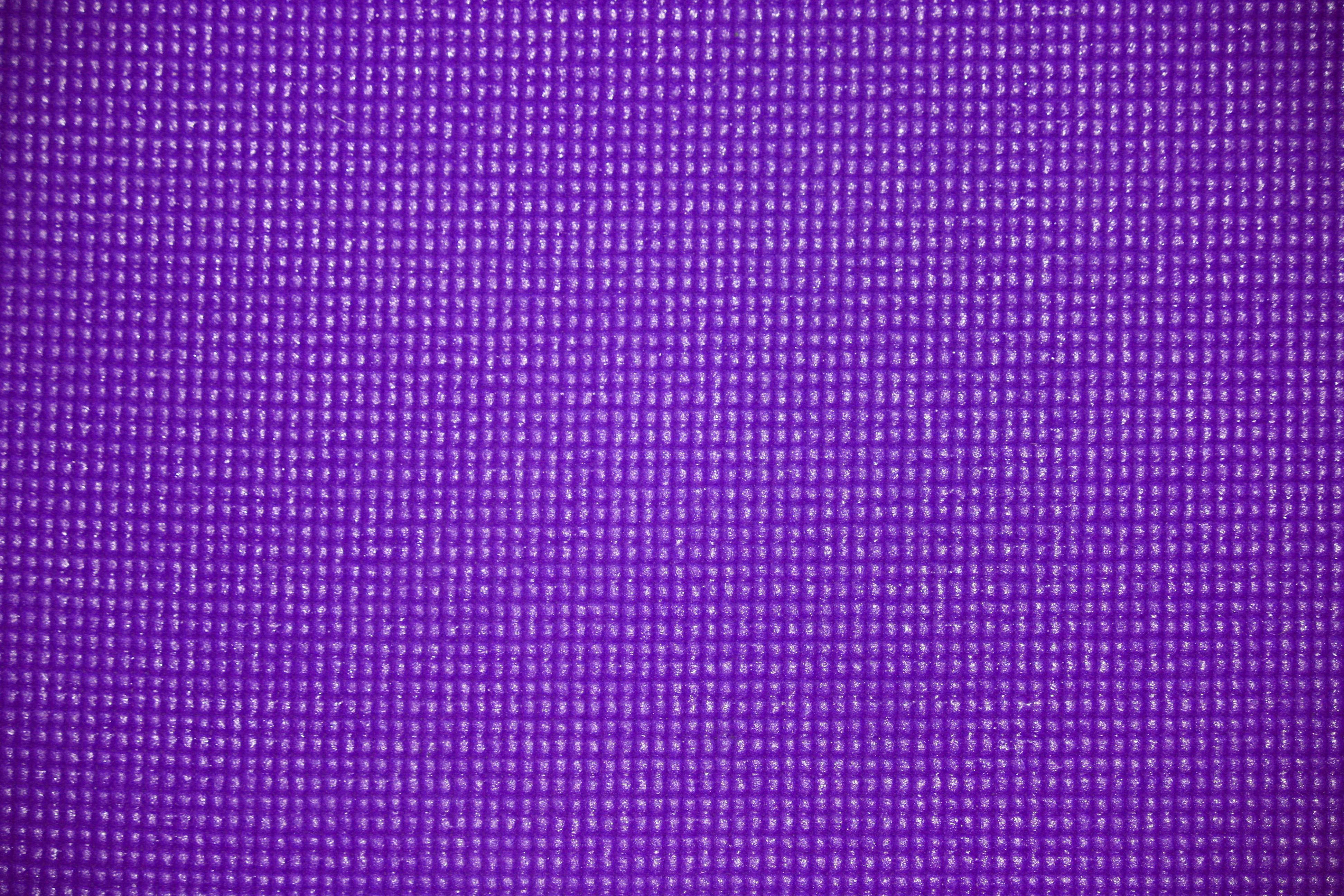 Purple Yoga Exercise Mat Texture Picture Free Photograph