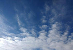 Wispy Cirrus Clouds - Free High Resolution Photo