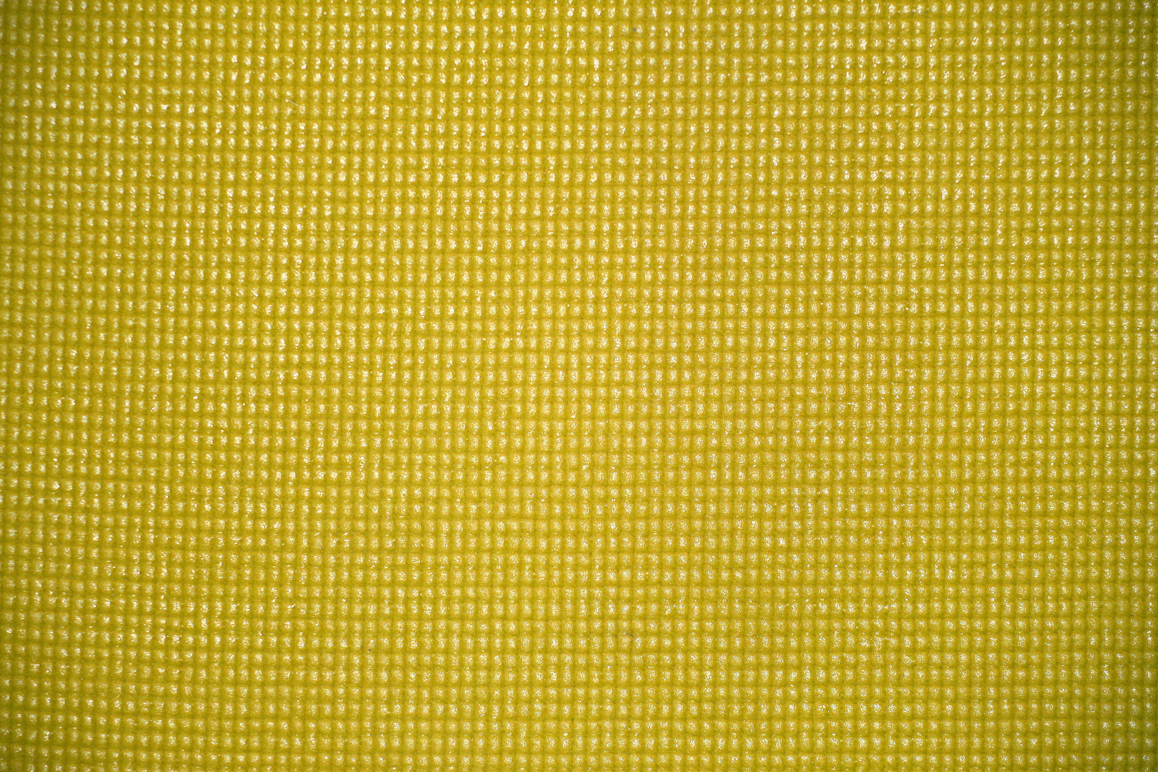 Yellow Yoga Exercise Mat Texture Picture Free Photograph