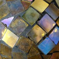 Gold Glass Mosaic Ball - Free High Resolution Photo