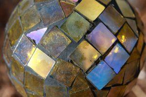 Gold Glass Mosaic Ball - Free High Resolution Photo