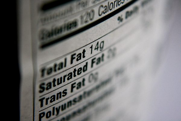 Nutrition Label Fat Content - Free High Resolution Photo
