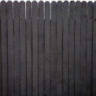 Charcoal Gray Painted Fence Texture - Free High Resolution Photo