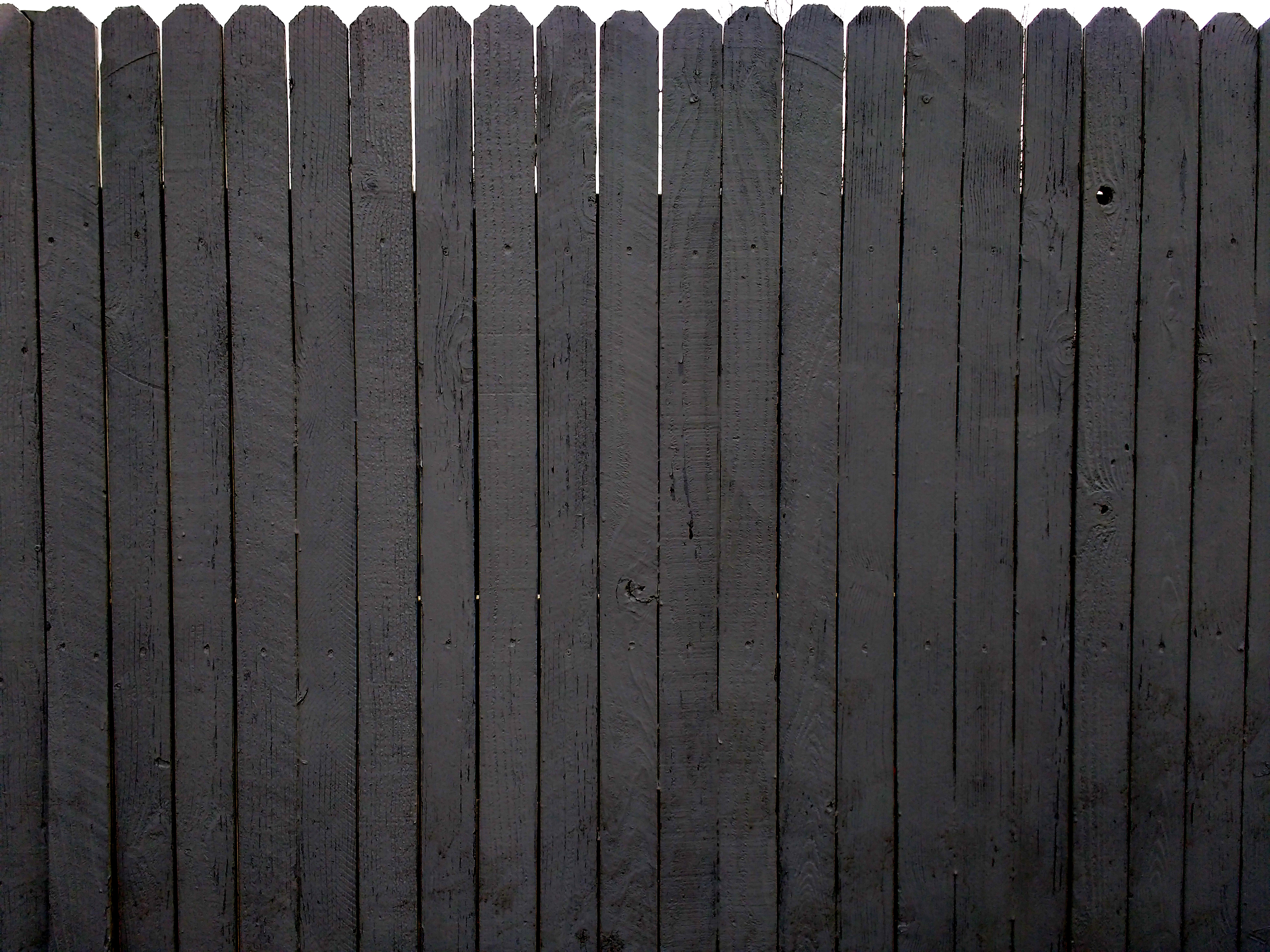 Charcoal Gray Painted Fence Texture Picture Free