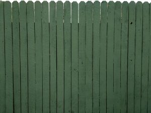 Green Painted Fence Texture - Free High Resolution Photo