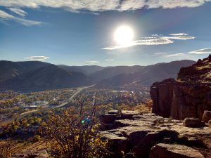 Autumn Sun over the Foothills - Free High Resolution Photo