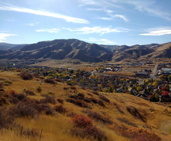Autumn View of the Foothills - Free High Resolution Photo