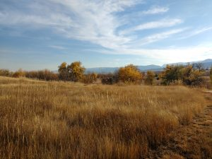 Fall Prairie and Mountain Landscape - Free High Resolution Photo