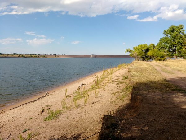 Sandy Shore at the Reservoir - Free High Resolution Photo
