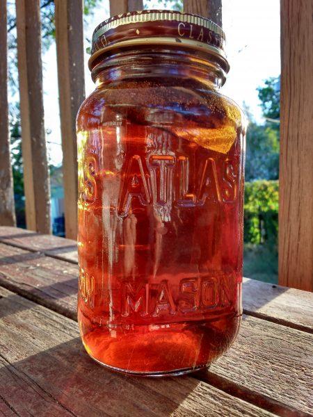Sun Tea in a Mason Jar - Free High Resolution Photo