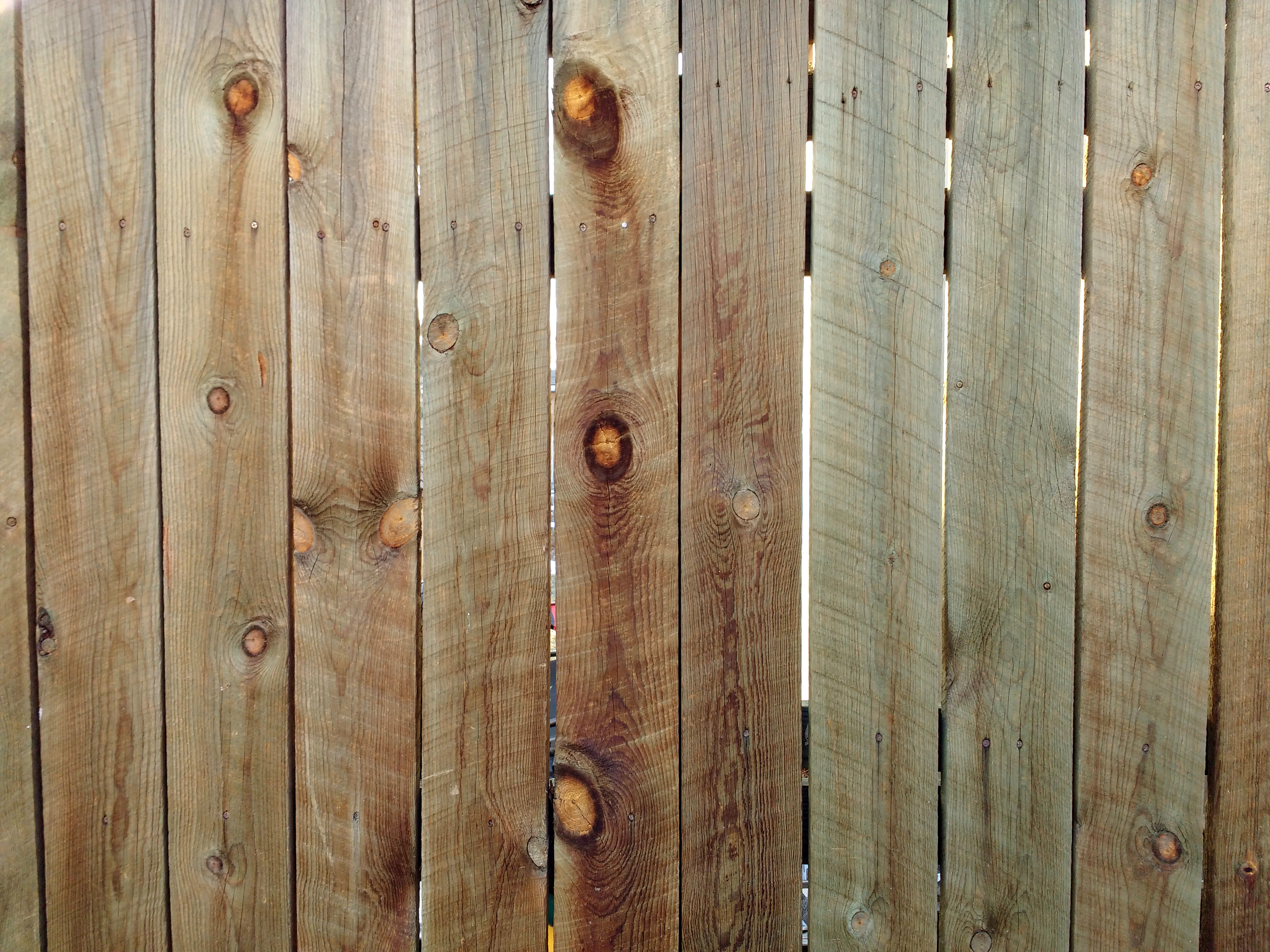 wood fence boards texture