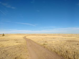 Dirt Road Across Open Prairie - Free High Resolution Photo