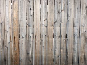 Wooden Fence Boards Texture with Nail Streaks