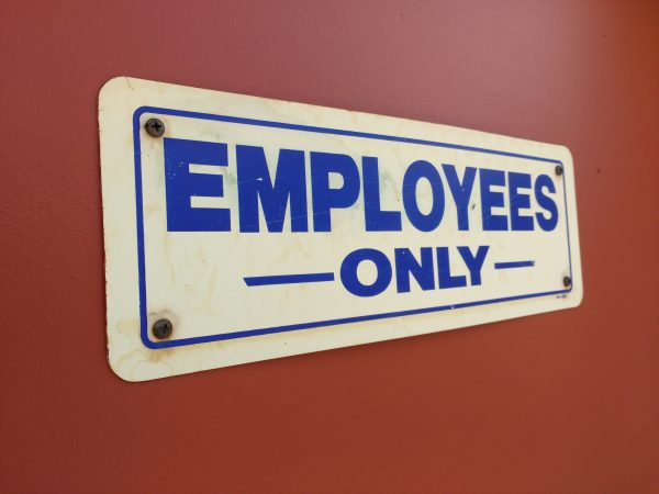 Employees Only Sign - Free High Resolution Photo