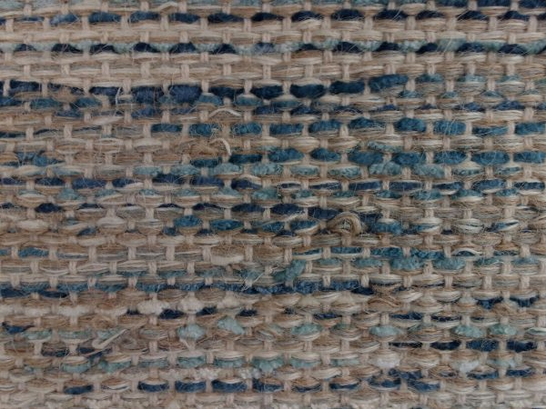 Brown and Blue Woven Rug Texture - Free High Resolution Photo