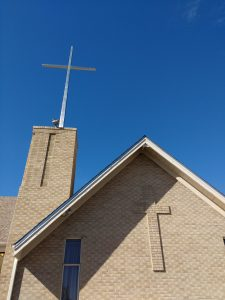 Church with Crosses - Free High Resolution Photo