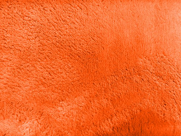 Plush Orange Bathmat Texture - Free High Resolution Photo