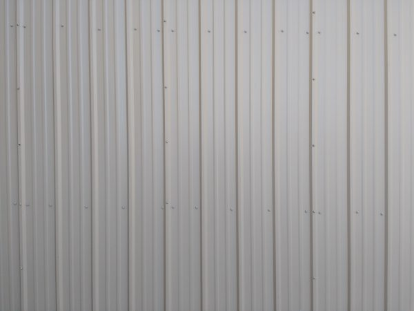 Ribbed Metal Siding Texture - Beige - Free High Resolution Photo