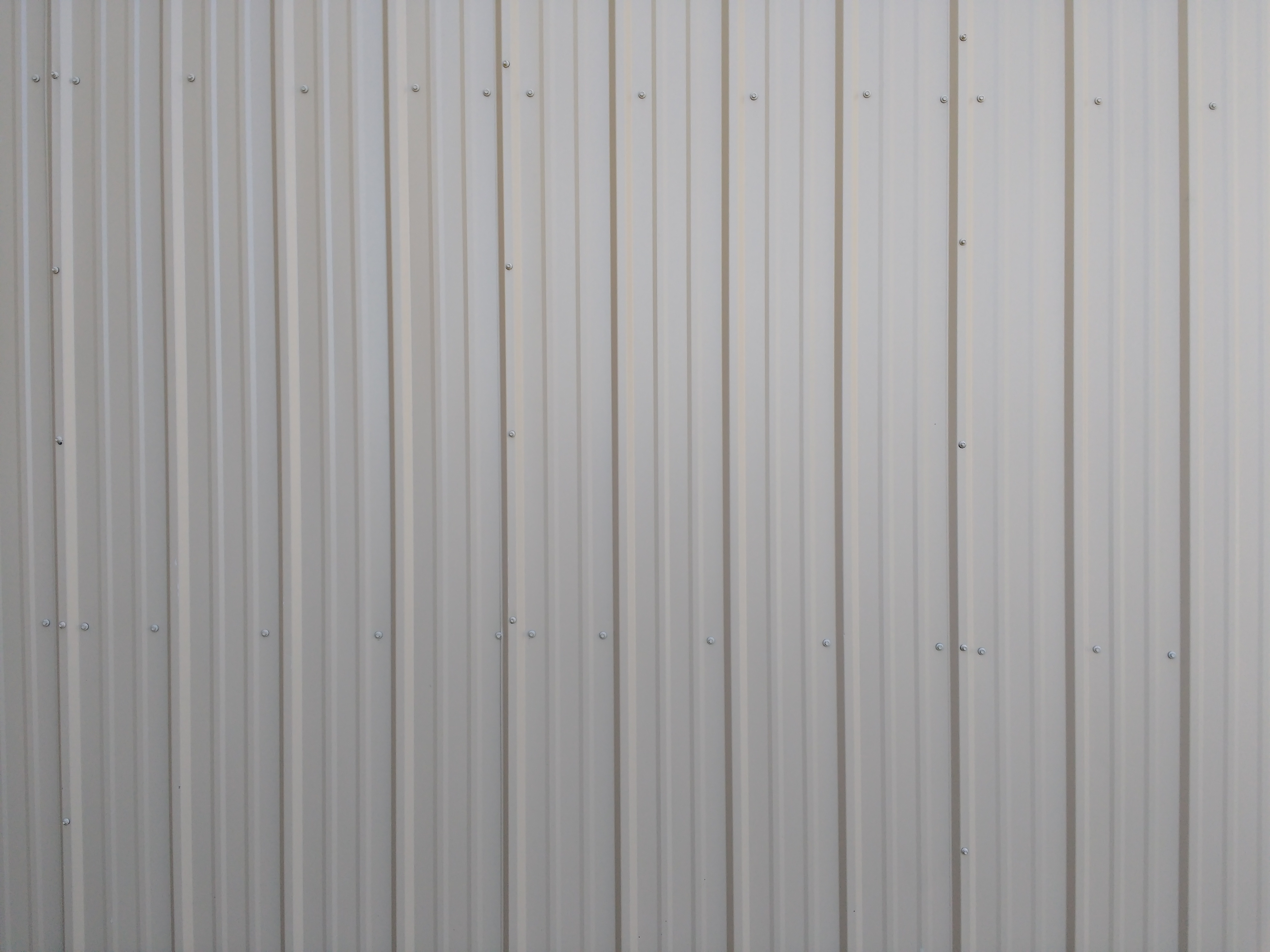 Ribbed Metal Siding Texture Beige Photos Public Domain