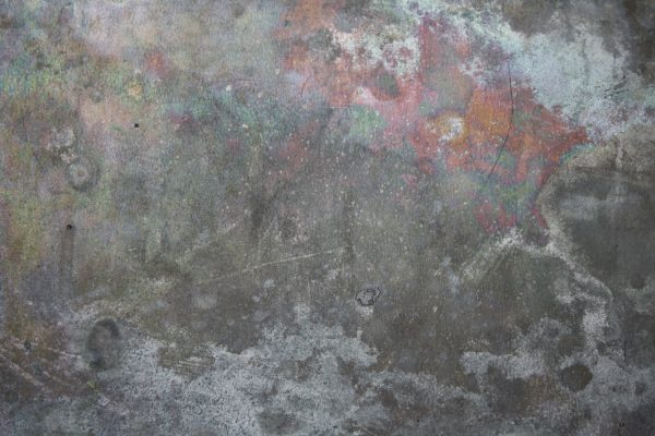 Tin Metal with Iridescent Discoloration Texture - Free High Resolution Photo