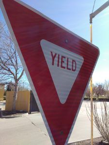 Yield Sign - Free High Resolution Photo