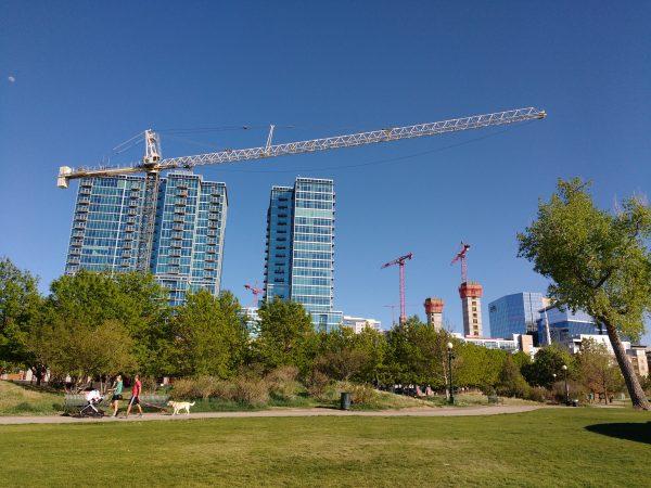Construction Cranes - Free High Resolution Photo