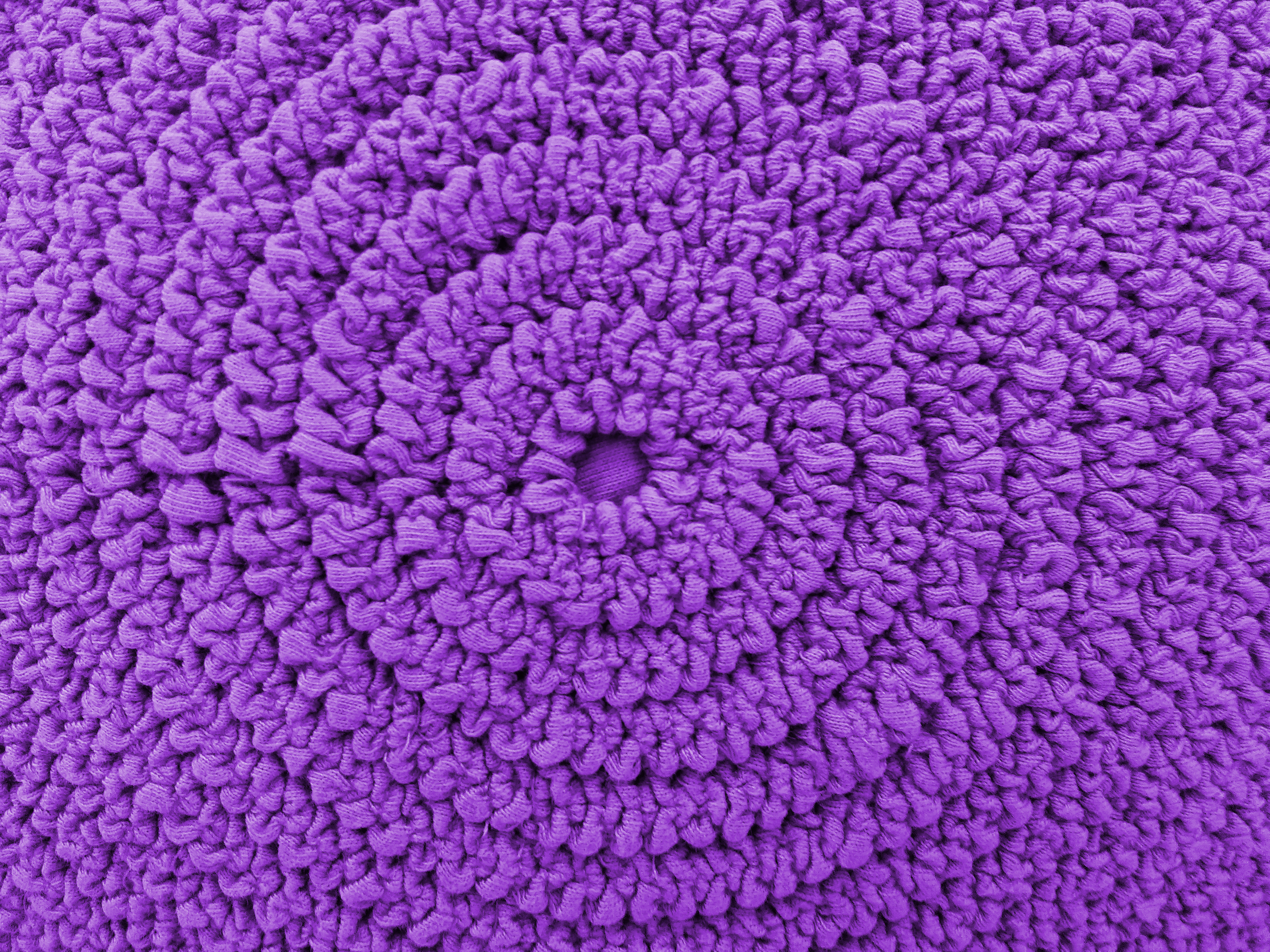 Gathered Purple Fabric In Concentric Circles Texture
