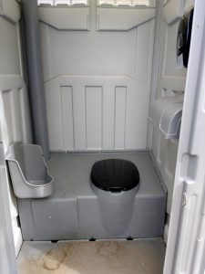 Inside of a Port-a-Potty - Free High Resolution Photo