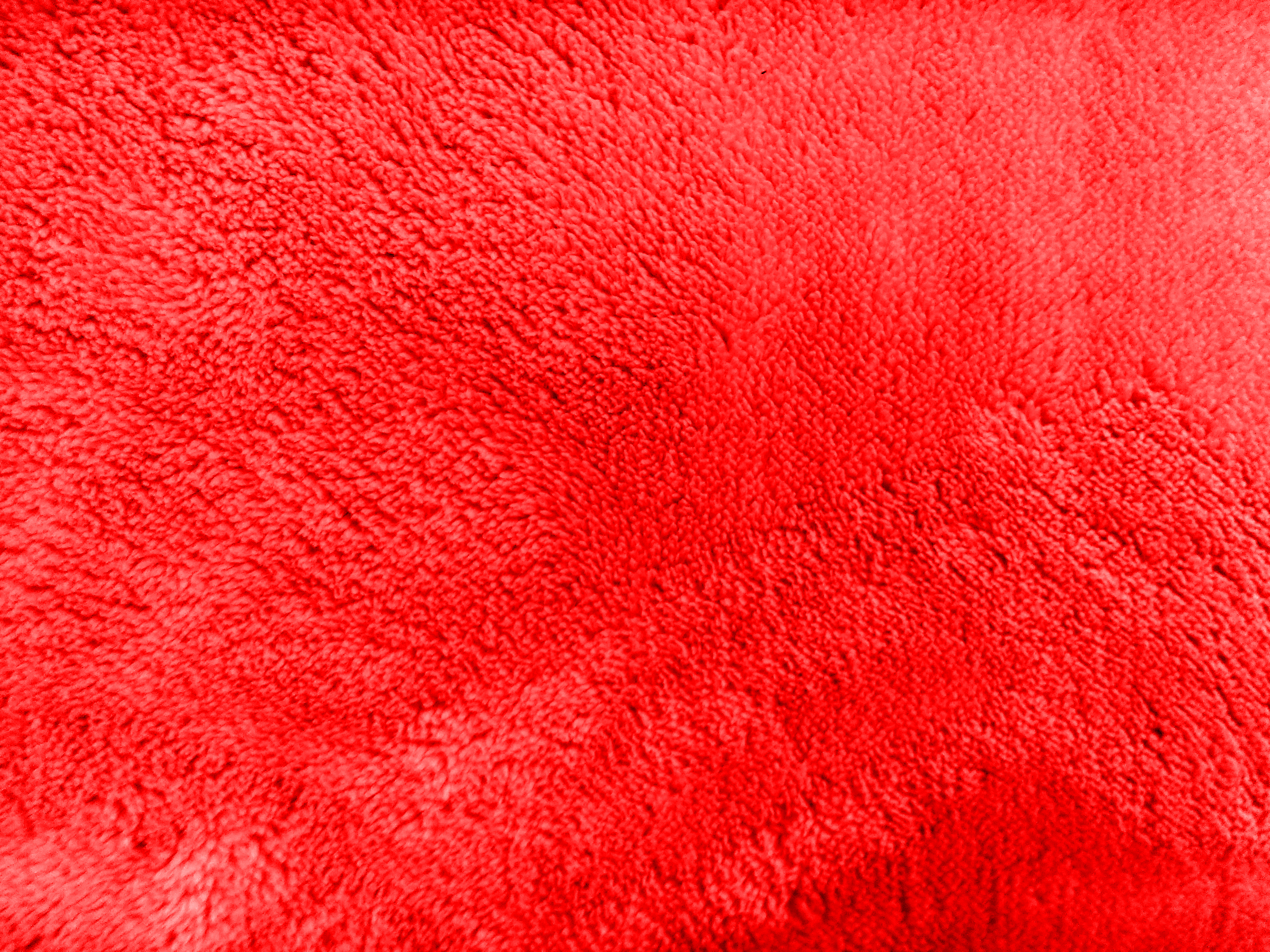 Plush Red Bathmat Texture Picture Free Photograph