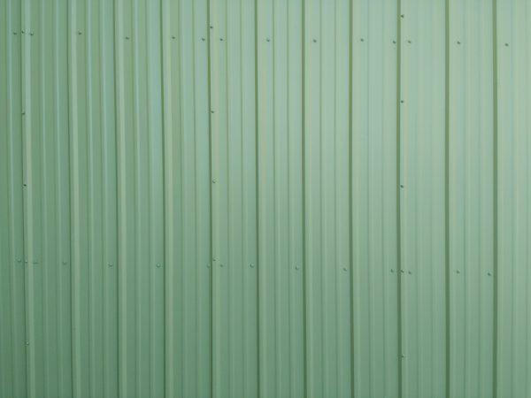 Green Ribbed Metal Siding Texture - Free High Resolution Photo