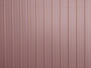 Ribbed Metal Siding Texture Red - Free High Resolution Photo