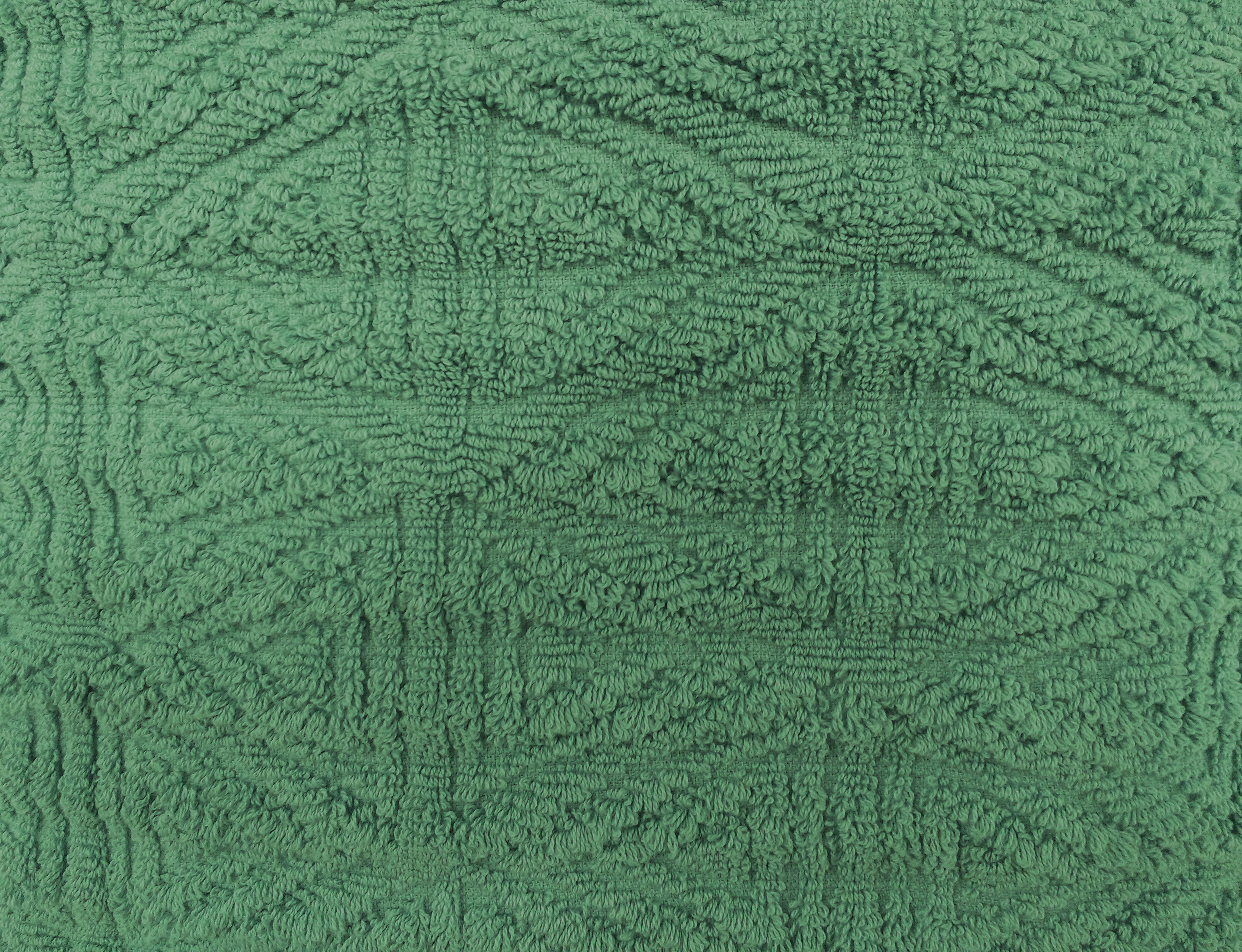 Green Textured Throw Rug Close Up Picture Free