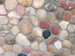Masonry Wall with Rounded Rocks Texture - Free High Resolution Photo