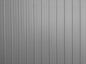 Ribbed Metal Siding Texture Gray - Free High Resolution Photo