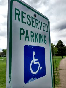 Wheelchair Reserved Parking Sign - Free High Resolution Photo