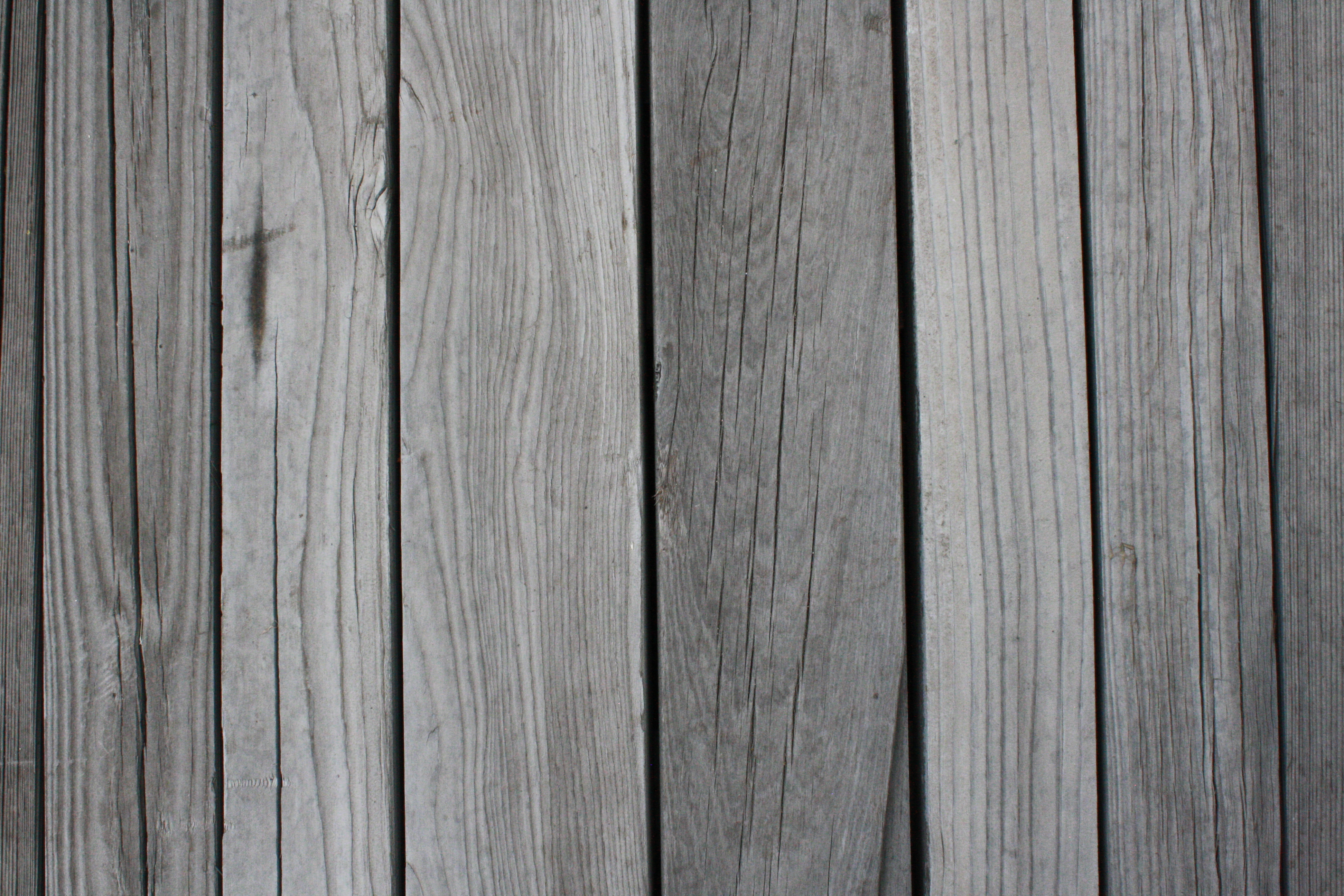 Weathered gray wood planks texture picture free