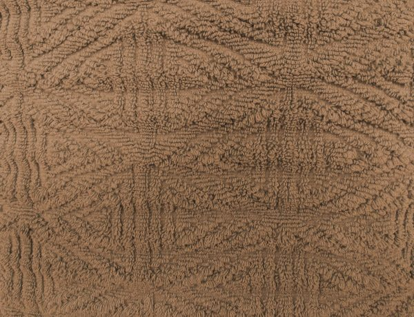 Brown Textured Throw Rug Close Up - Free High Resolution Photo