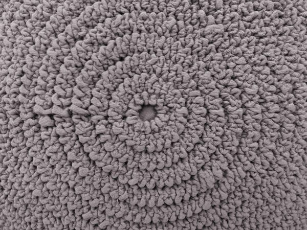 Gathered Gray Fabric in Concentric Circles Texture - Free High Resolution Photo