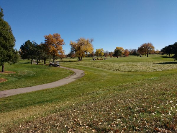 Golf Course in Fall - Free High Resolution Photo