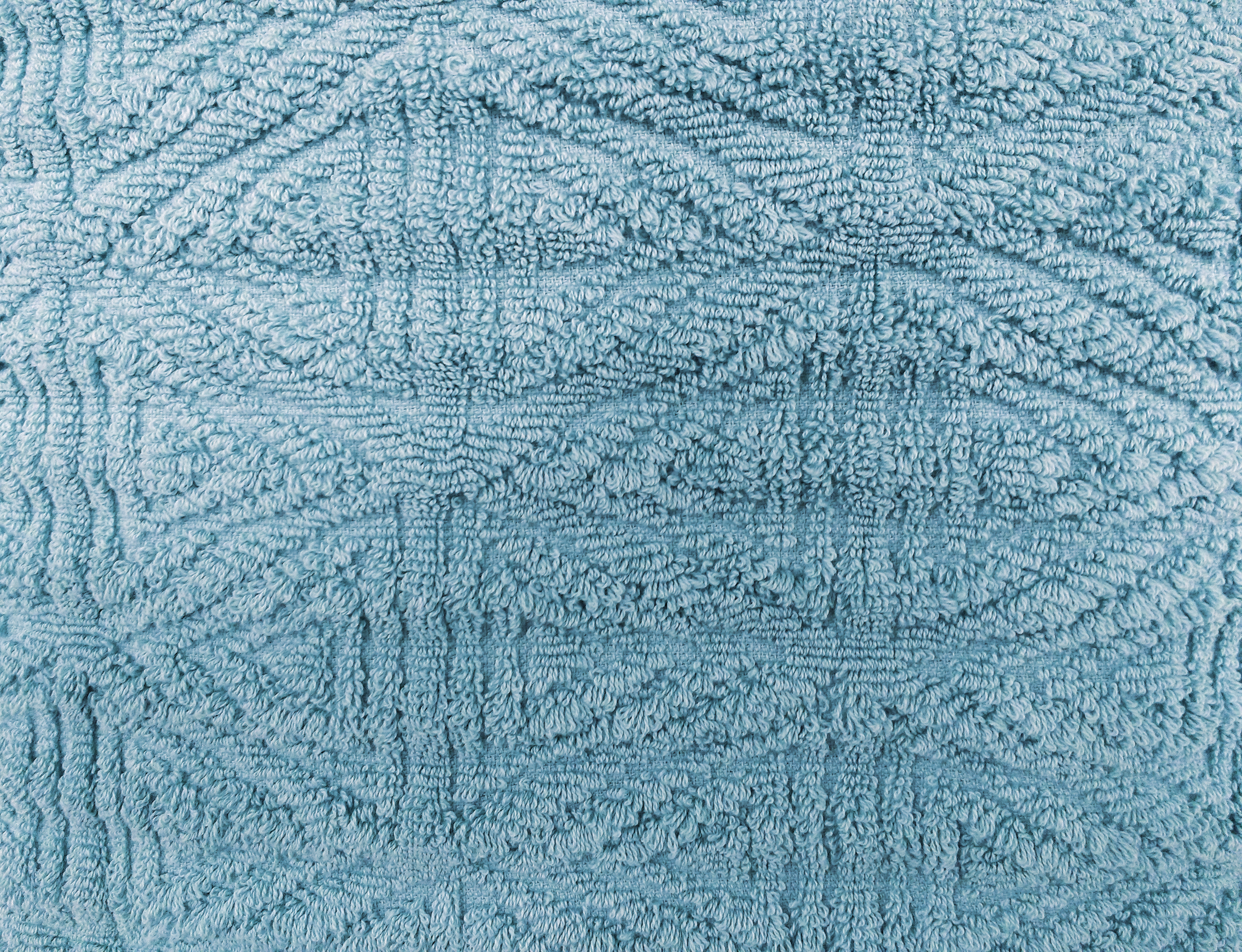 Light Blue Textured Throw Rug Close Up Picture Free
