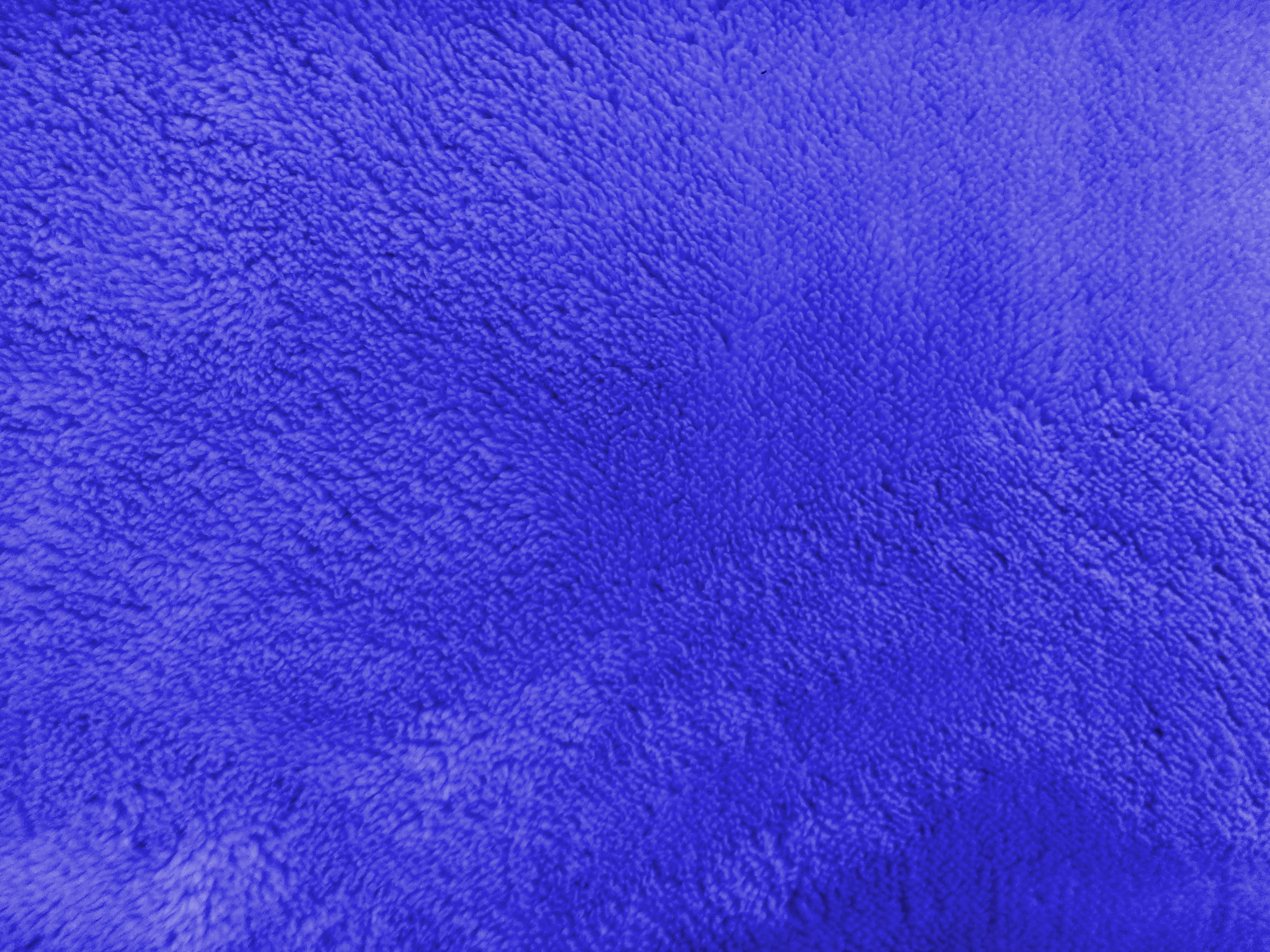Plush Blue Bathmat Texture Picture Free Photograph
