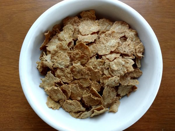 Bowl of Bran Flakes Breakfast Cereal - Free High Resolution Photo