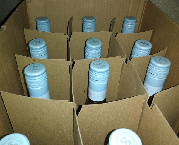 Case of Wine Bottles - Free High Resolution Photo