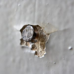 Nail Head Sticking out of Wall - Free High Resolution Photo