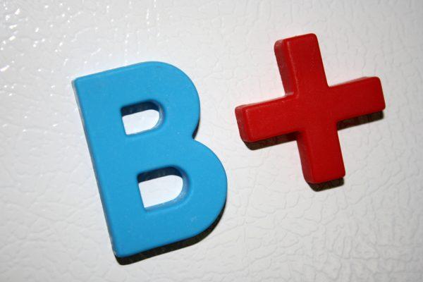 B Plus School Letter Grade - Free High Resolution Photo