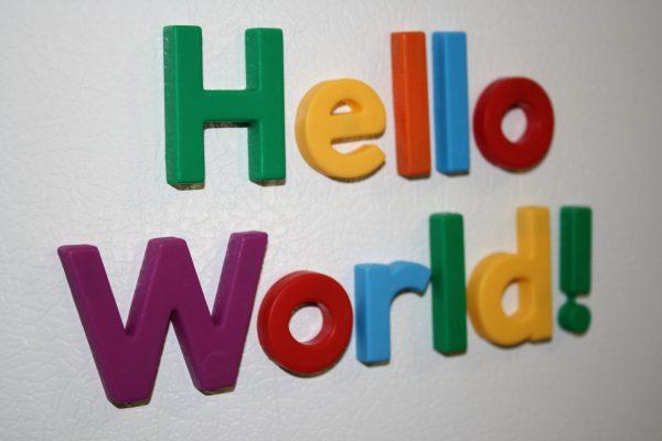 Hello World - Free High Resolution Photo