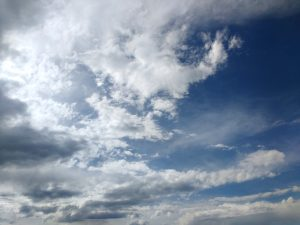 Blue Sky with Clouds - Free High Resolution Photo