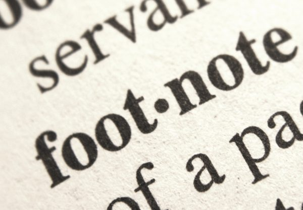 Footnote - Free High Resolution Photo