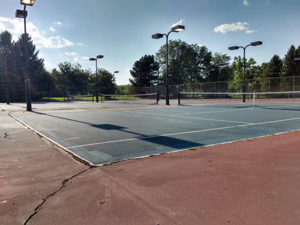 Tennis Courts - Free High Resolution Photo
