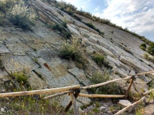 Steep Sandstone Slab Rock Face - Free High Resolution Photo